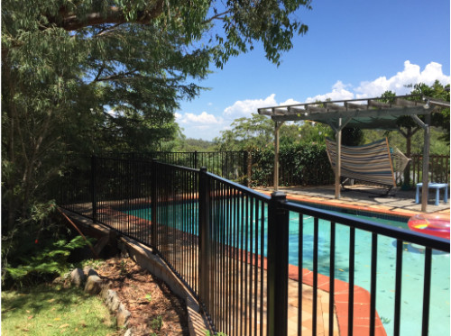 Pool Fencing Sydney - Powder Coated Aluminium
